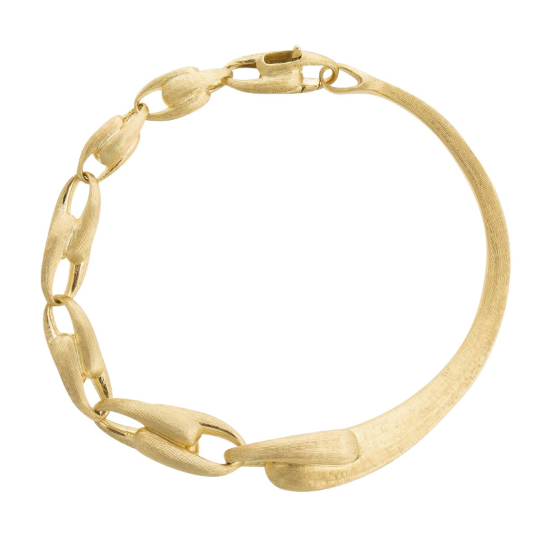 "18k Yellow Gold ""Lucia"" Link Bangle"