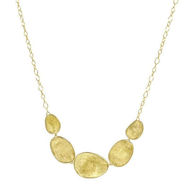 "18k Yellow Gold ""Lunaria"" Chain Necklace"