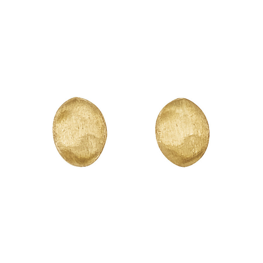 "18k Yellow Gold ""Siviglia"" Bead Stud Earrings"