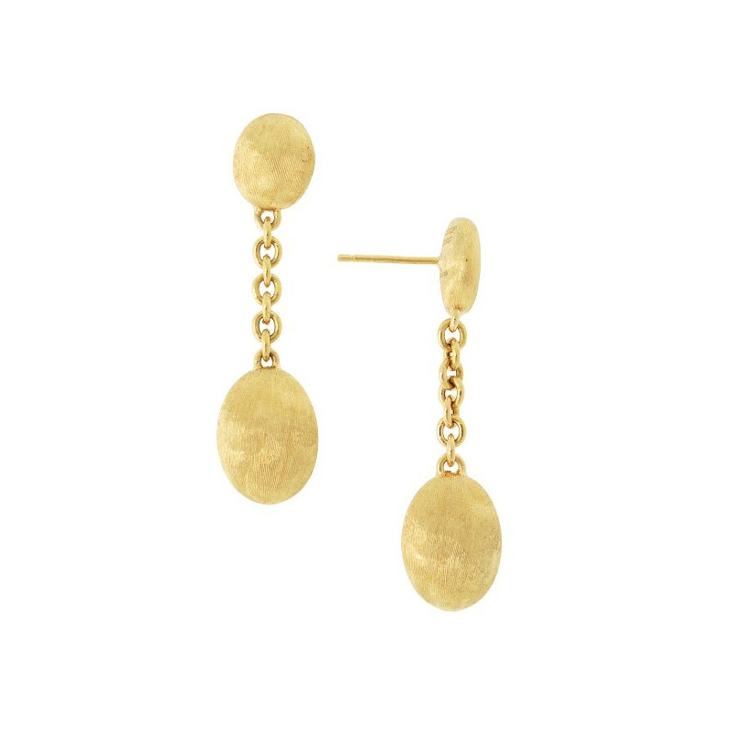 "18k Yellow Gold ""Siviglia"" Grande Drop Earrings"