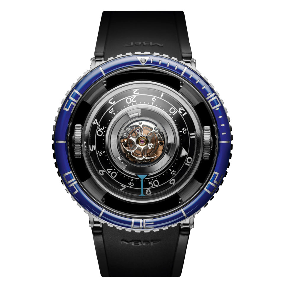 HM7 Aquapod Tourbillon Blue Titanium