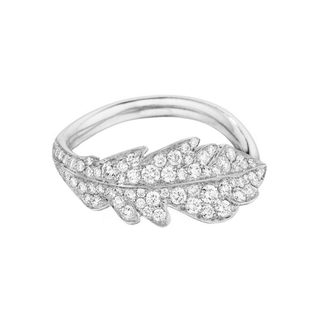 "18k White Gold & Diamond ""Phoenix"" Ring"