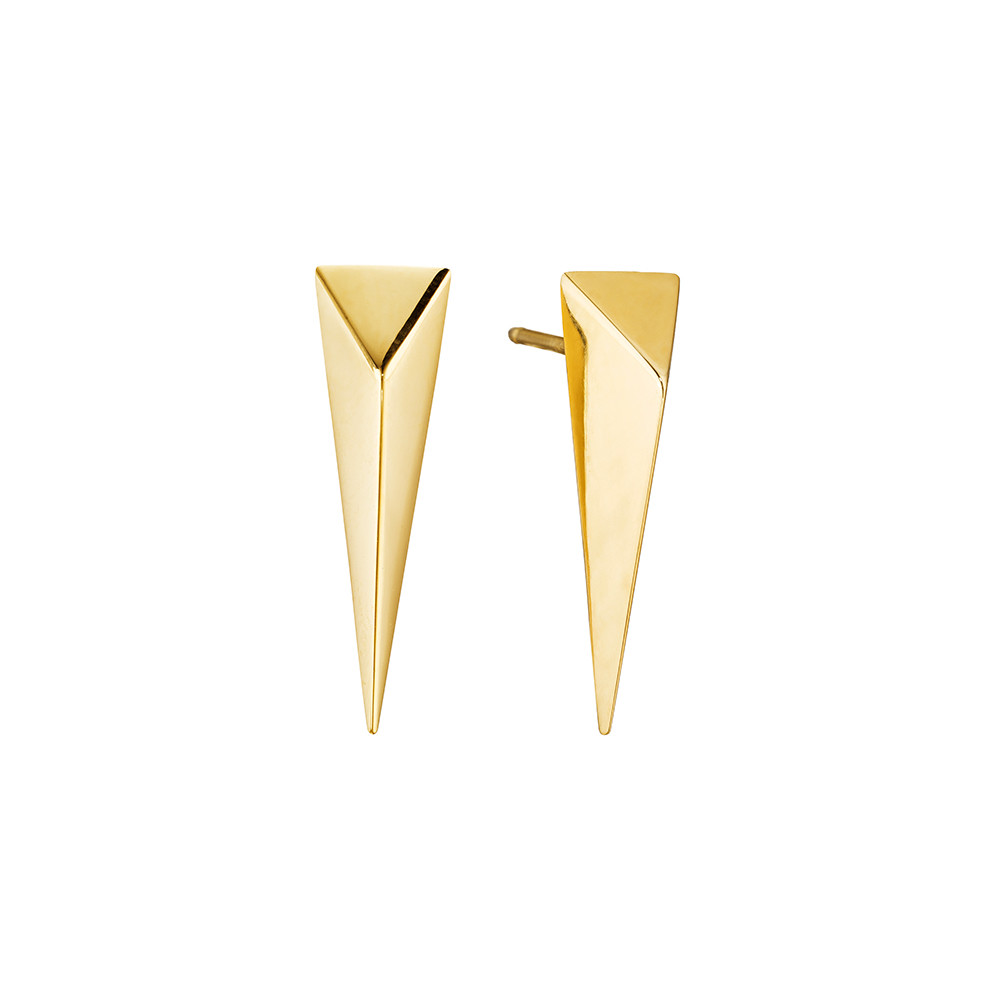Medium 18k Gold Bee Stinger Drop Earstuds