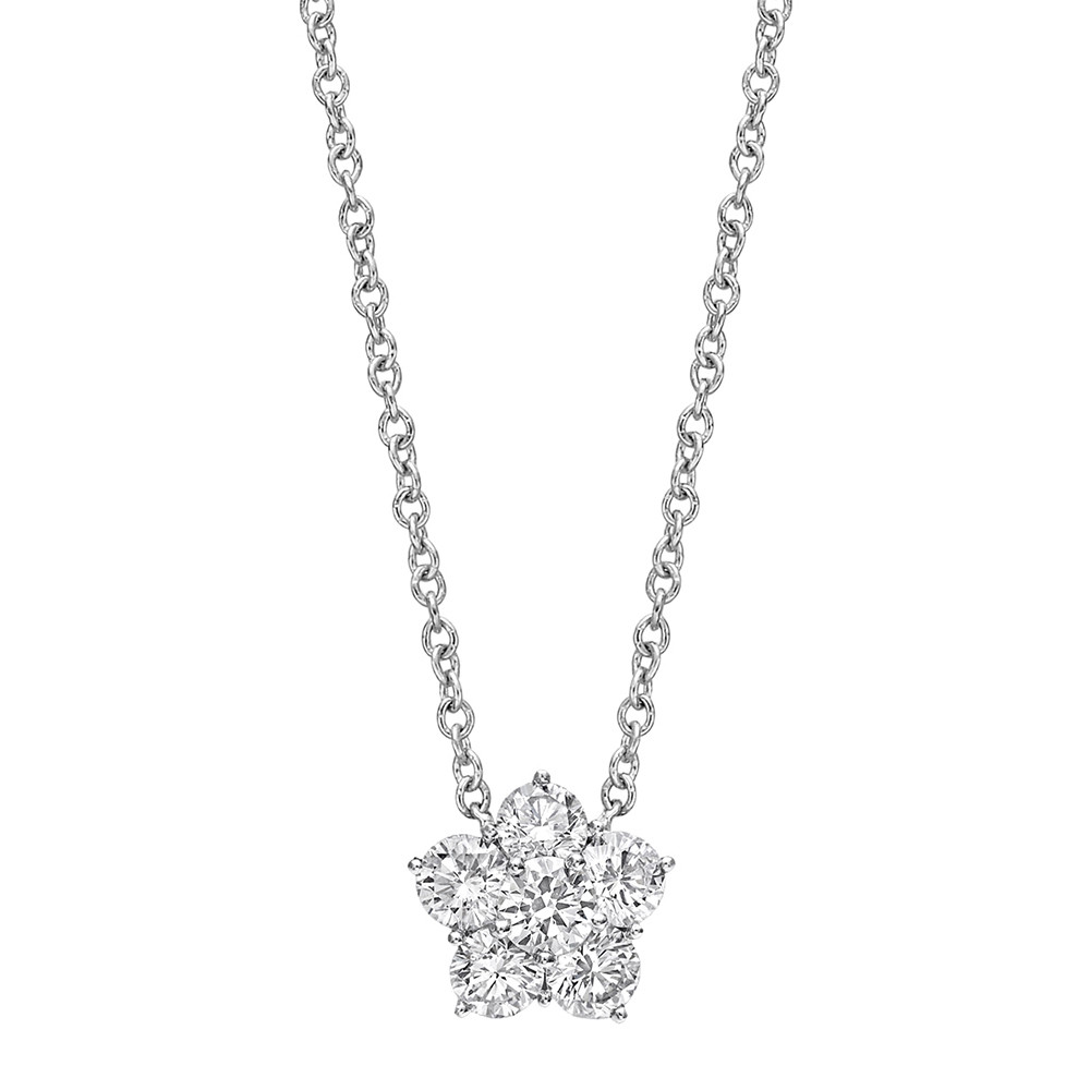"Small Diamond ""Astra"" Pendant (0.60ct tw)"