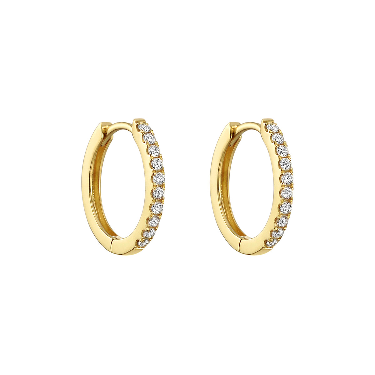Mini Diamond Hoop Earrings (0.20ct tw)