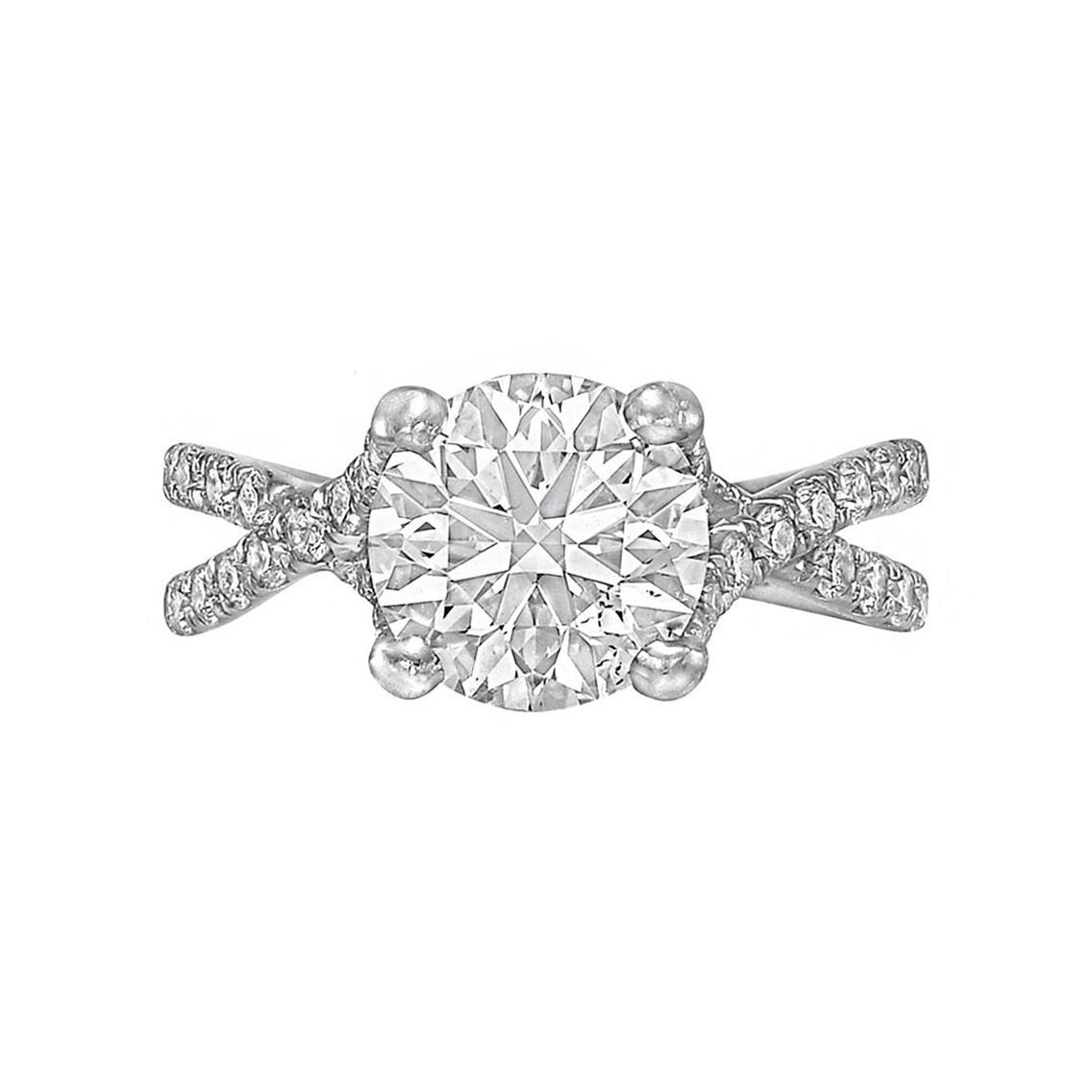 2.01ct Round Brilliant Diamond Ring (D/VS2)