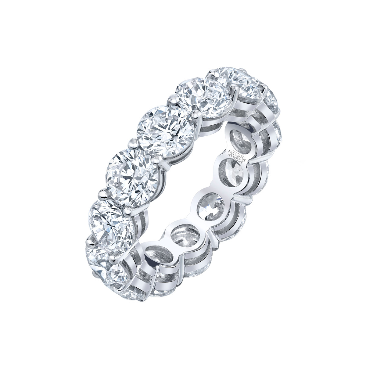Round Brilliant Diamond Eternity Band (9.61tcw)
