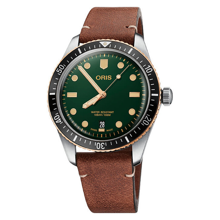 Divers Sixty-Five Green (733.7707.4357)