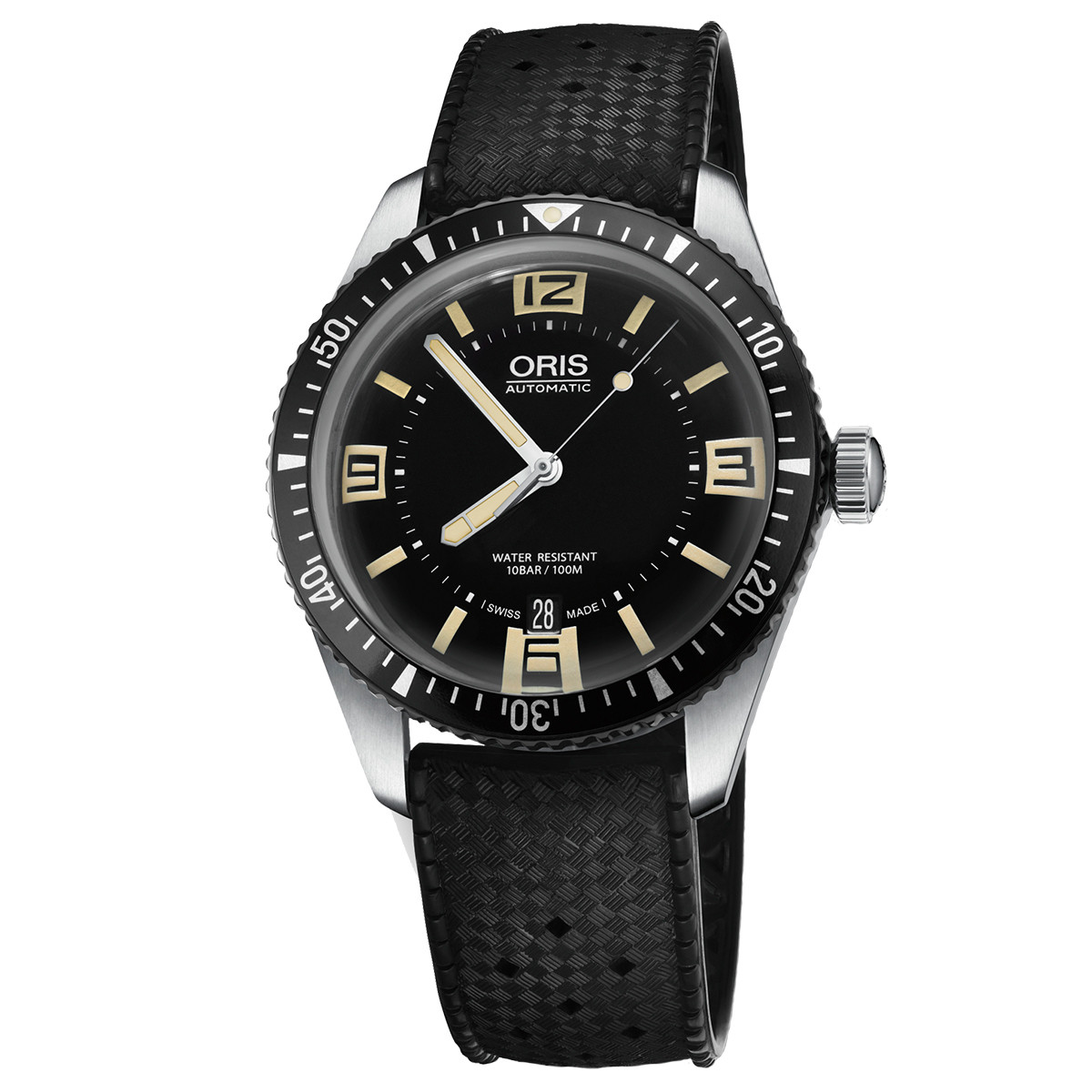 Divers Sixty-Five Black (733.7707.4064.RS)