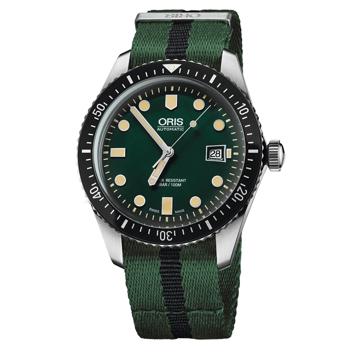 Divers Sixty-Five Green (733.7720.4057)