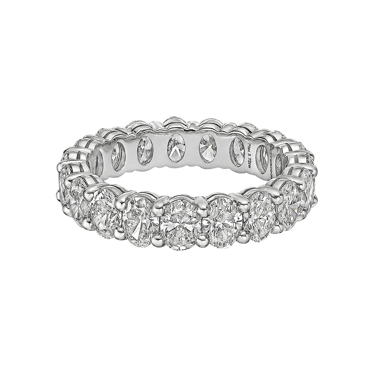 Oval-Cut Diamond Eternity Band (3.72ct tw)