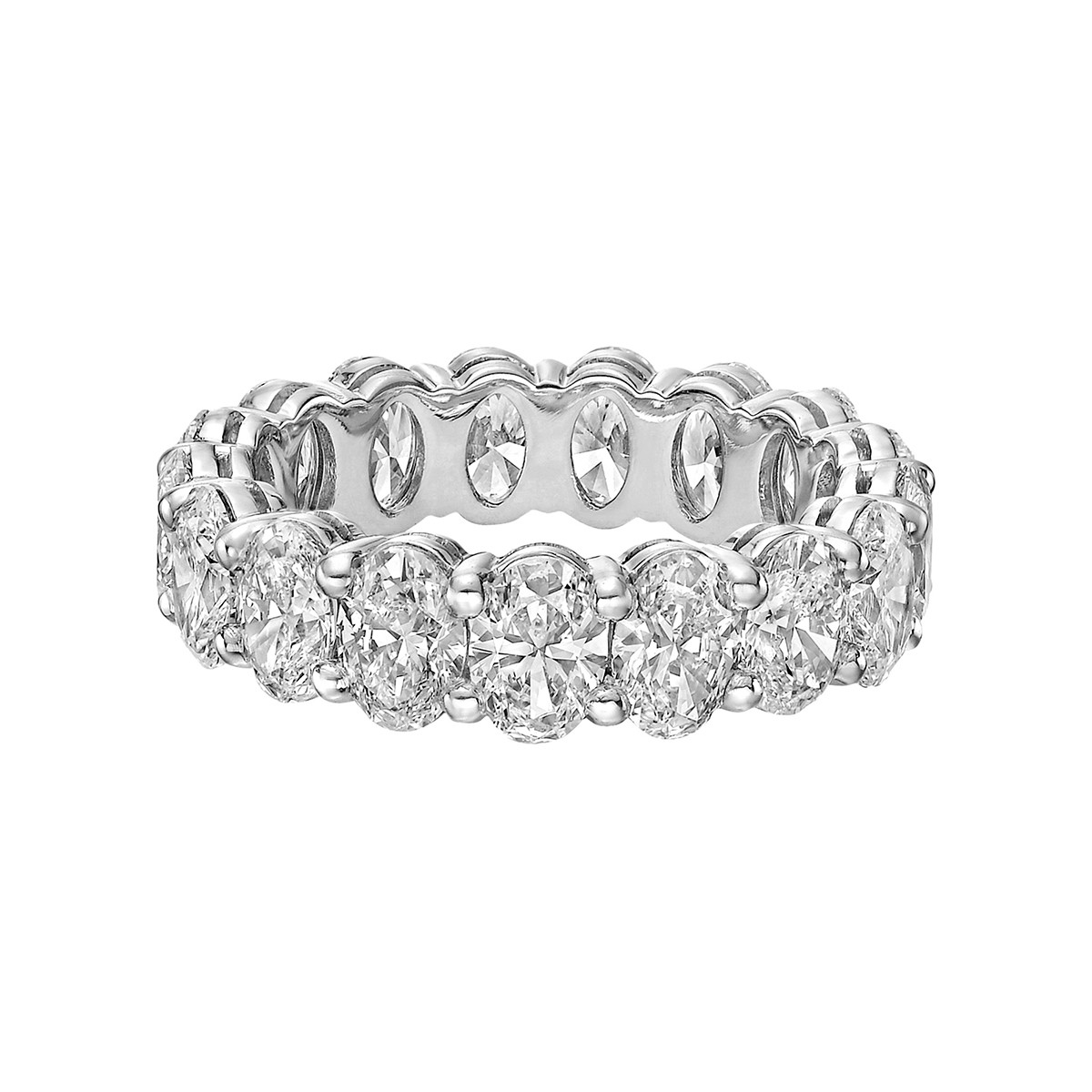 Oval-Cut Diamond Eternity Band (4.75ct tw)