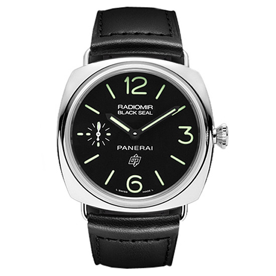 "Radiomir ""Black Seal"" Logo Steel (PAM00380)"