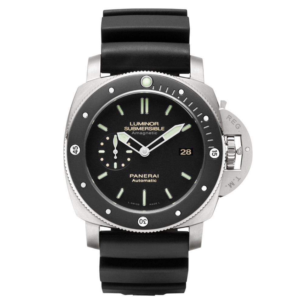 Luminor Submersible 1950 Amagnetic Titanium (PAM00389)
