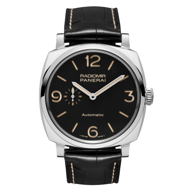 Radiomir 1940 3-Days Steel (PAM00572)