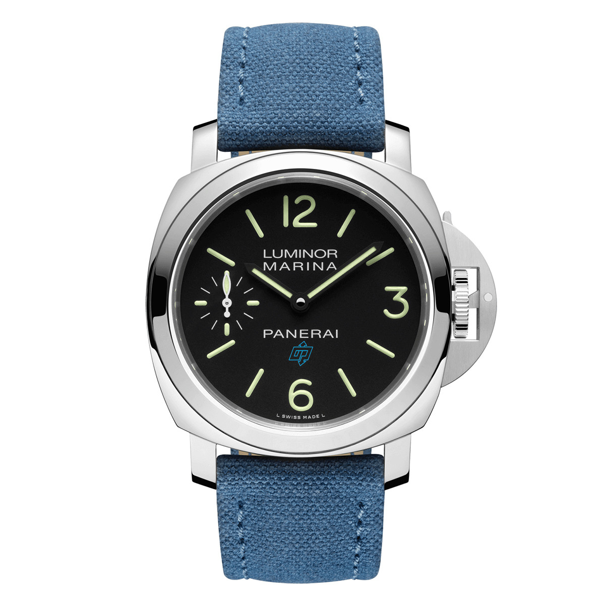 Luminor Marina Logo 44mm Steel (PAM00777)
