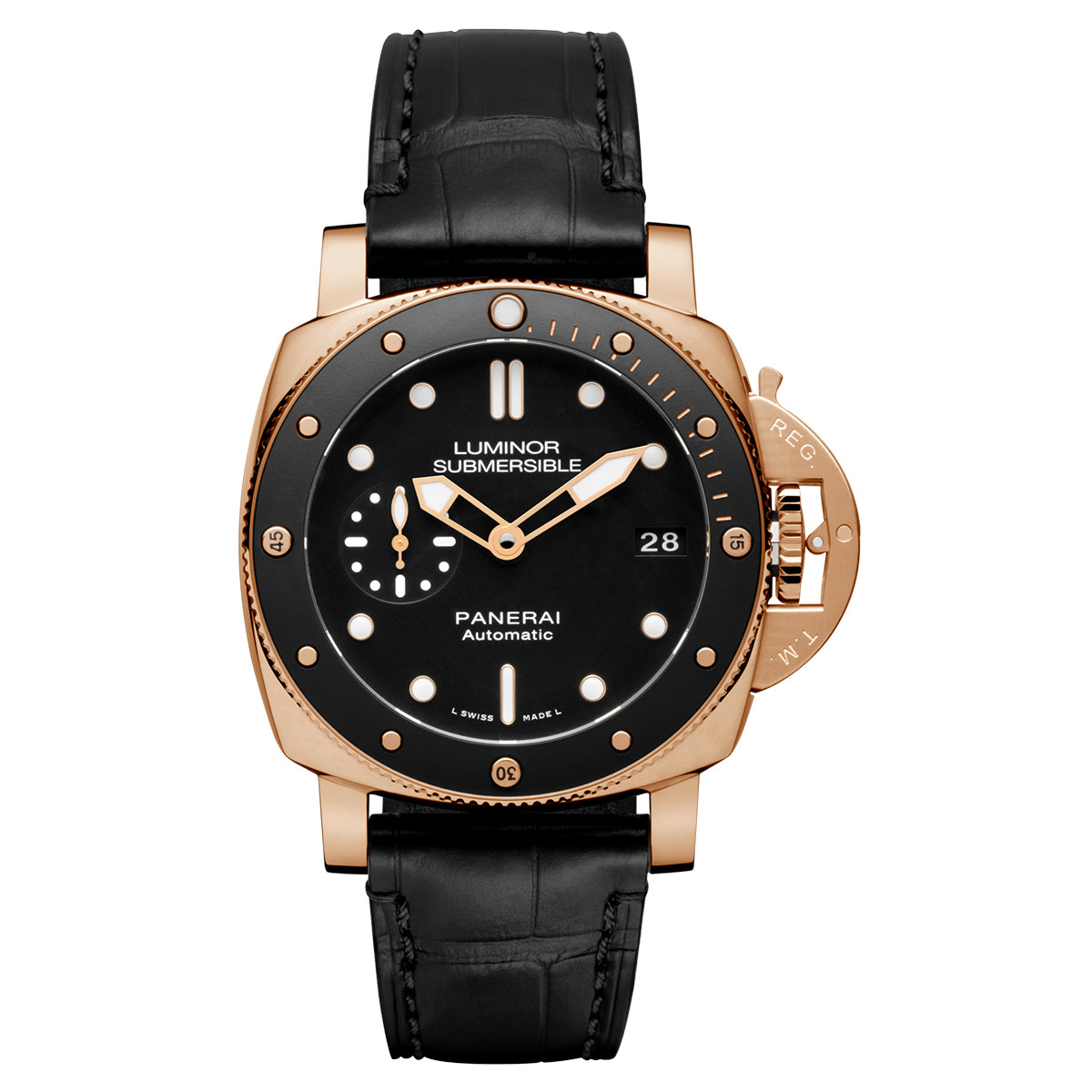 Luminor Submersible 1950 3-Days Rose Gold (PAM00684)