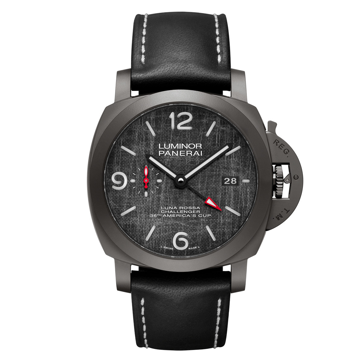 Luminor Luna Rossa GMT Titanium (PAM01036)