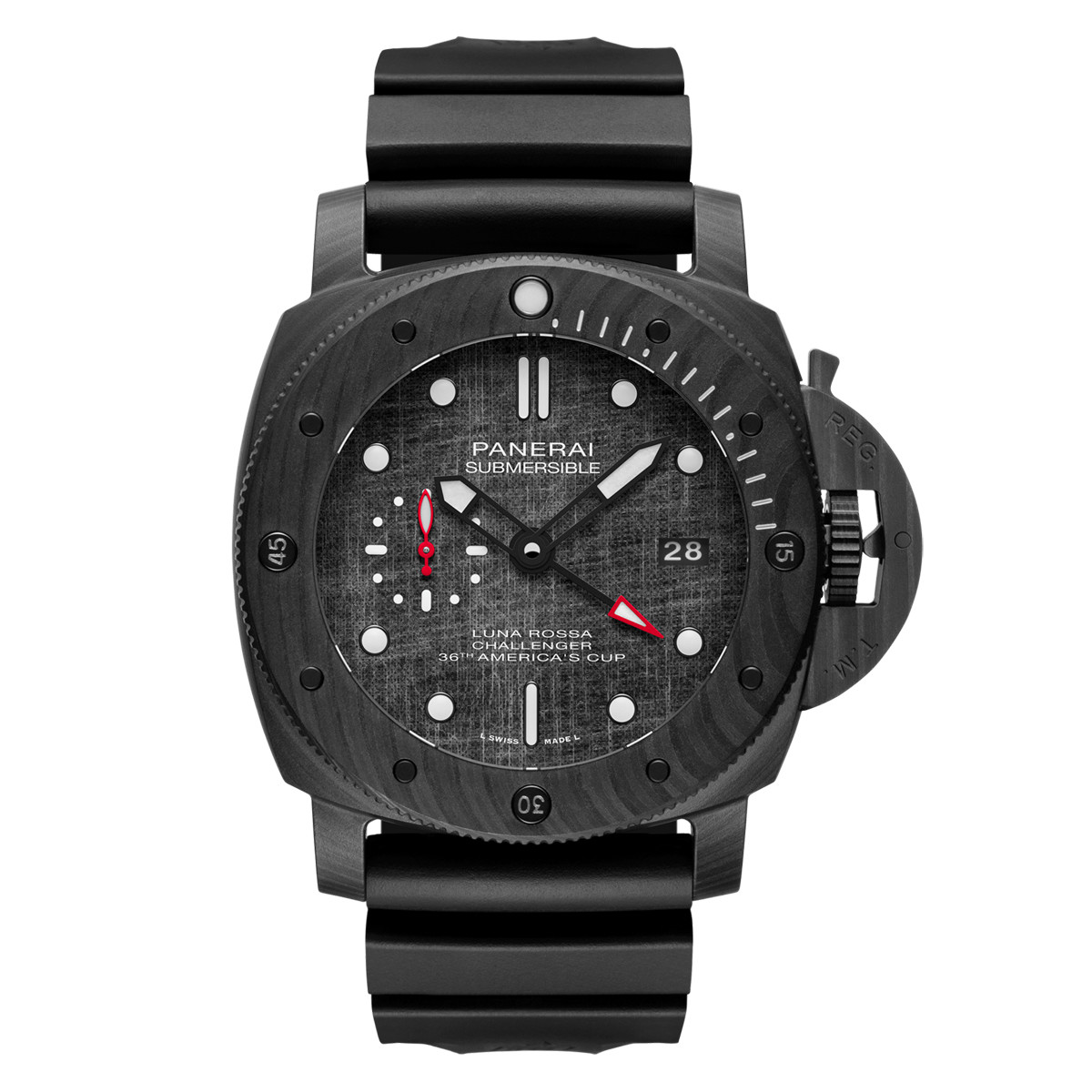 Submersible Luna Rossa 47mm Carbotech (PAM01039)