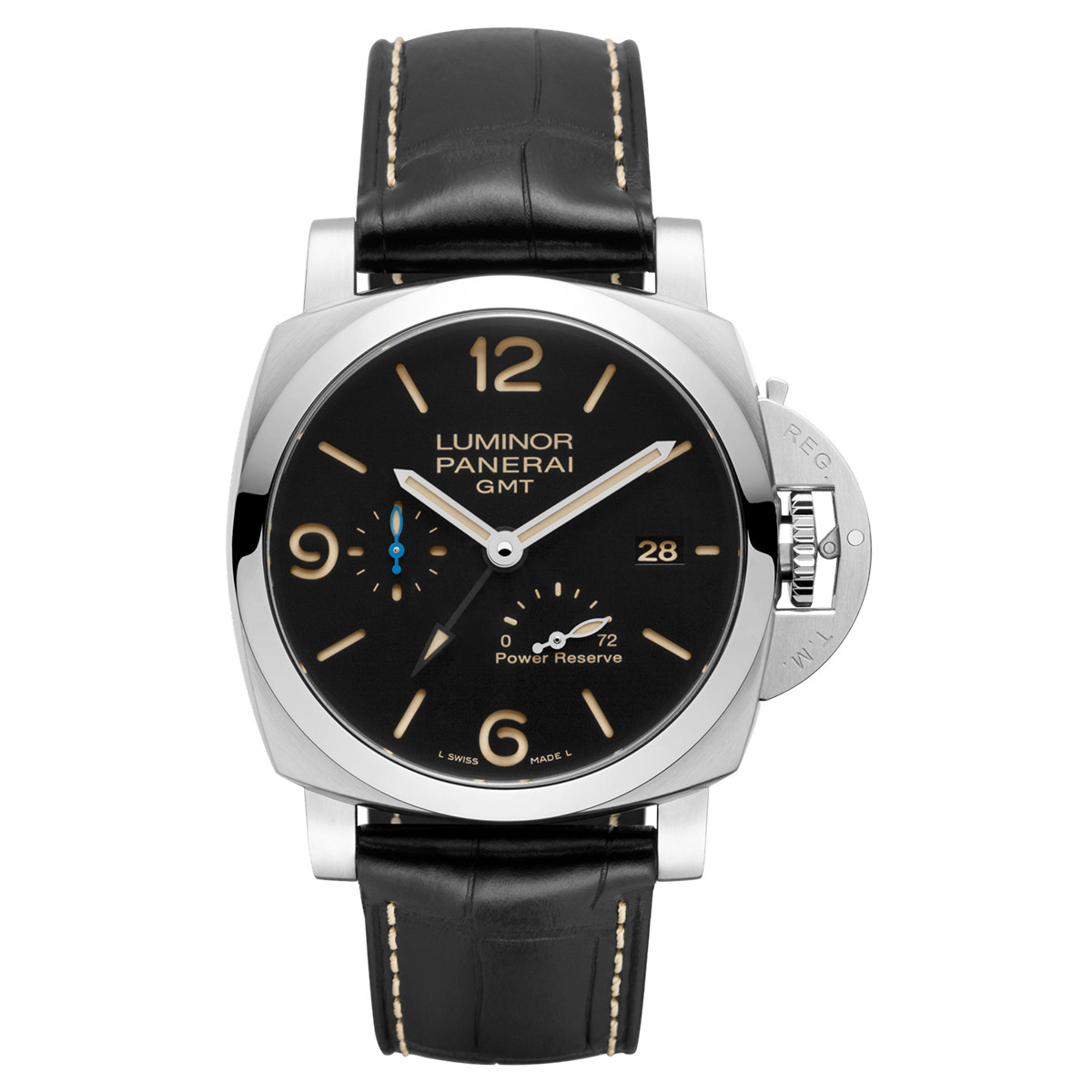 Luminor 1950 GMT Power Reserve Steel (PAM01321)