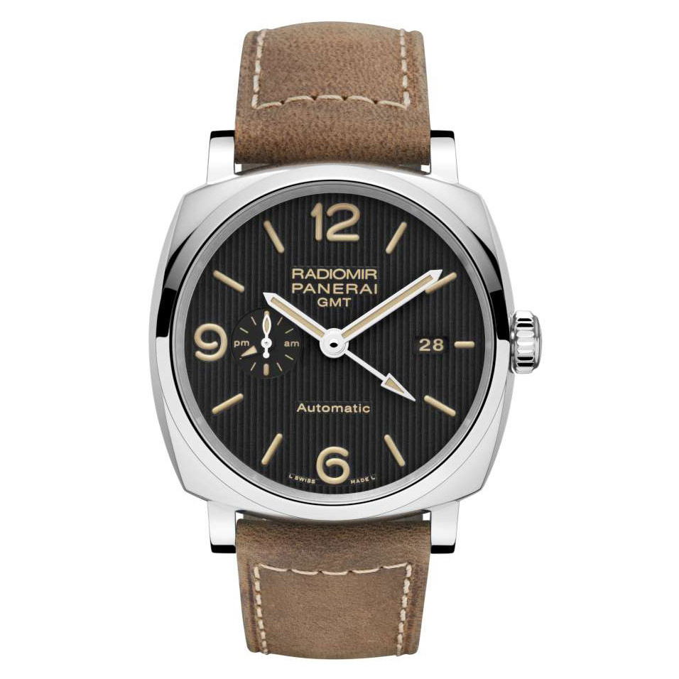 Radiomir 1940 GMT Steel (PAM00657)