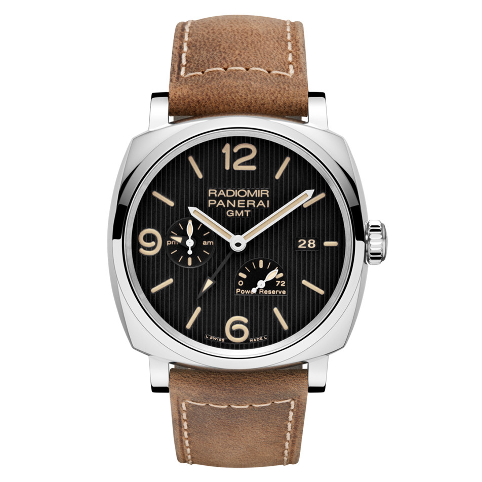 Radiomir 1940 GMT Power Reserve Steel (PAM00658)