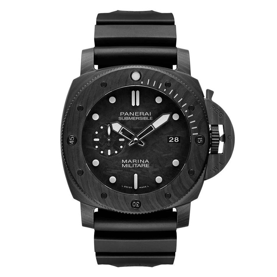 Submersible Marina Militare 47mm Carbotech (PAM00979)