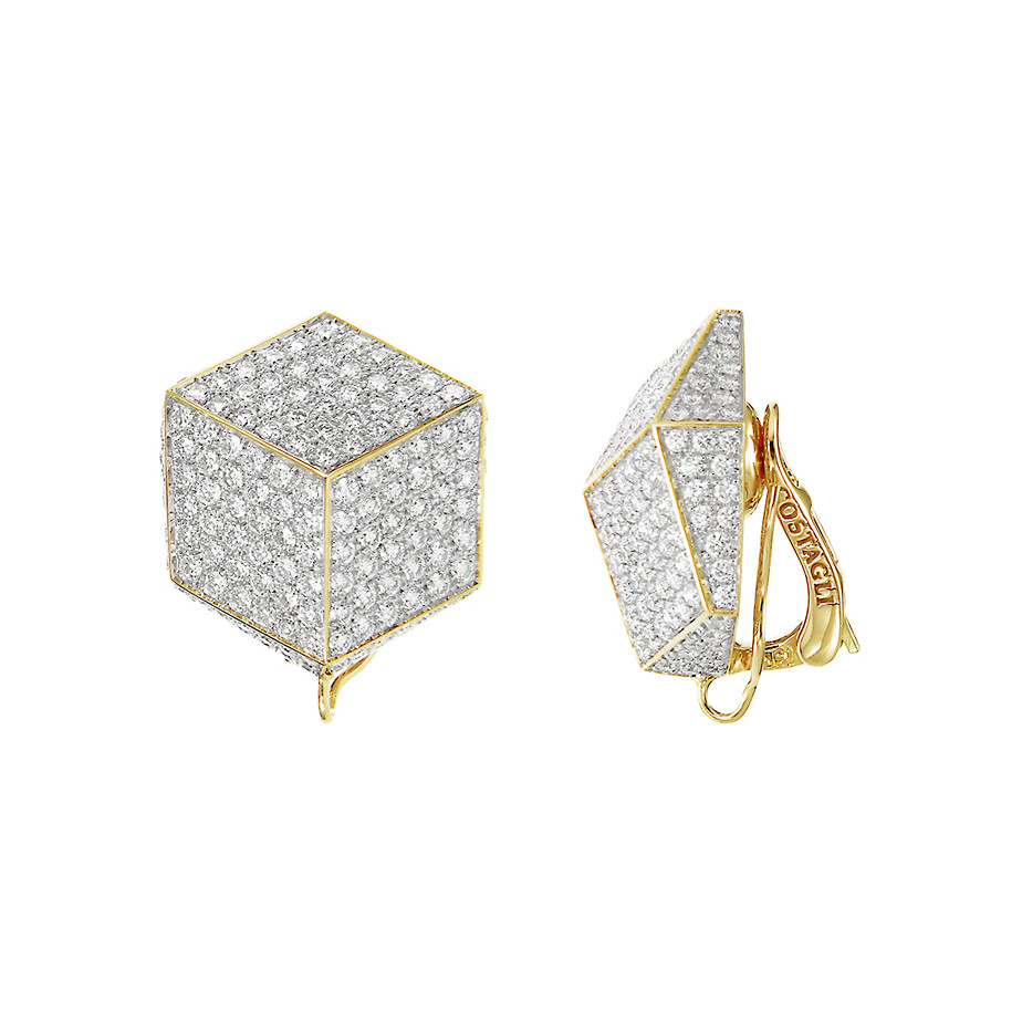 "Pavé Diamond ""Brillante"" Earclips"