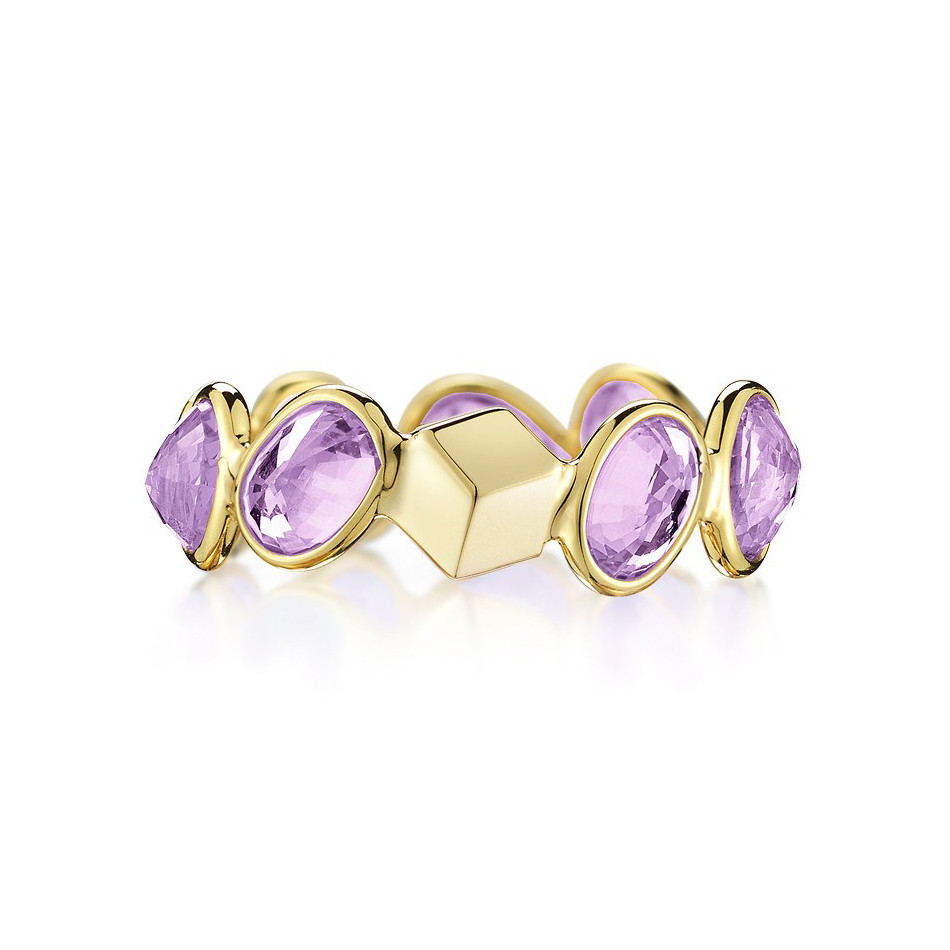 "Purple Sapphire ""Ombre"" Band Ring"