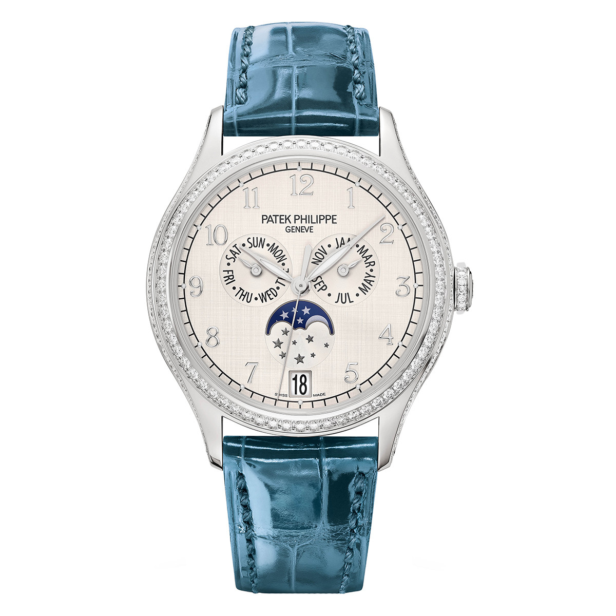 Ladies' Annual Calendar White Gold (4947G-010)