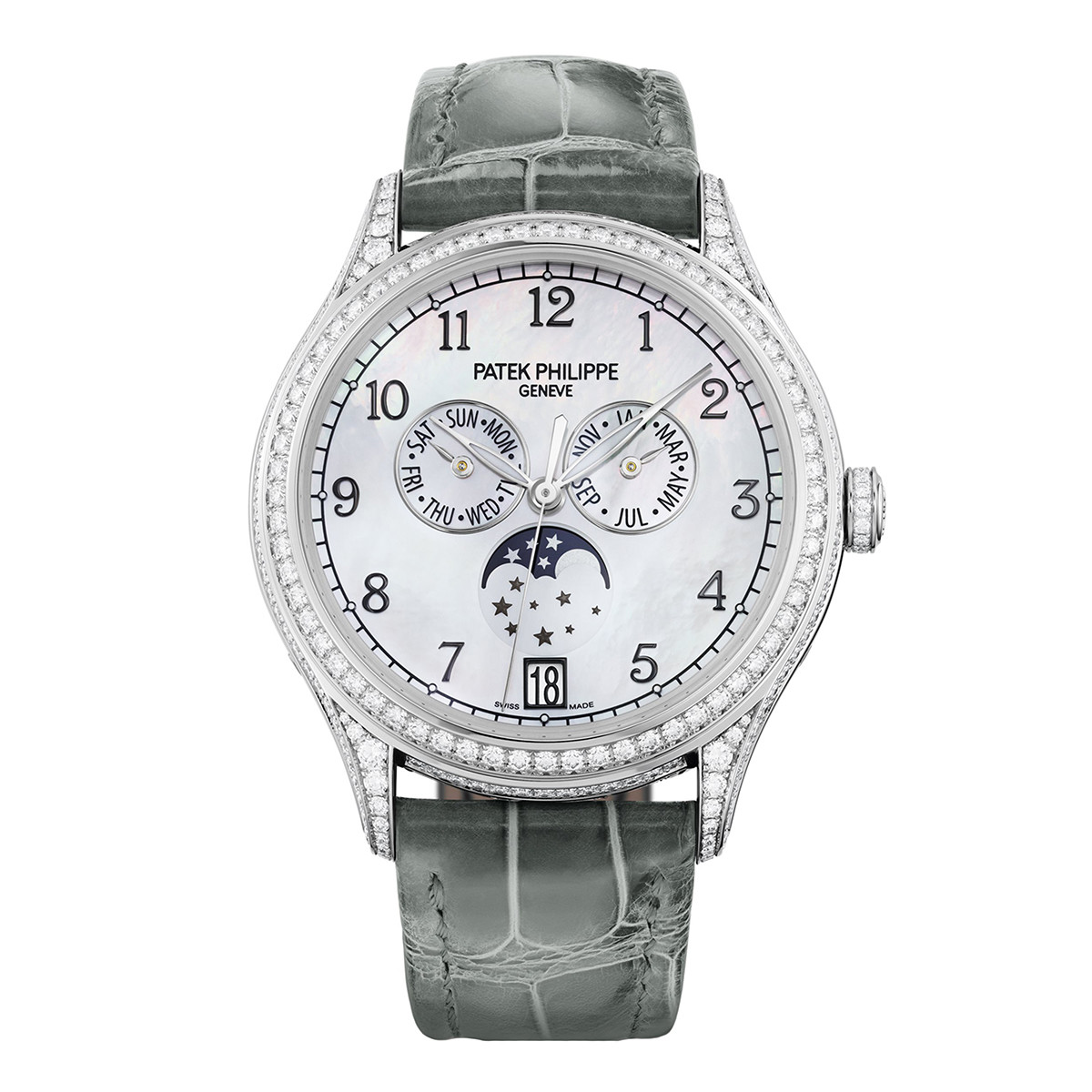 Patek philippe 4948g 010 ladies 39 annual calendar for Patek philippe women