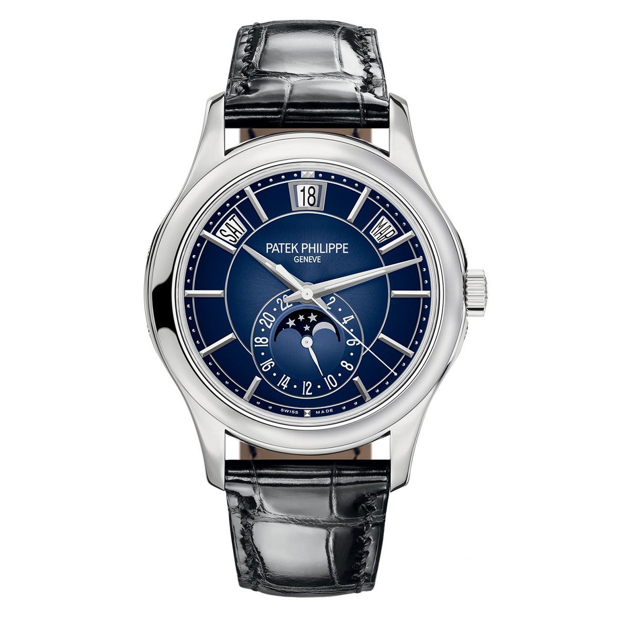 Annual Calendar White Gold (5205G-013)