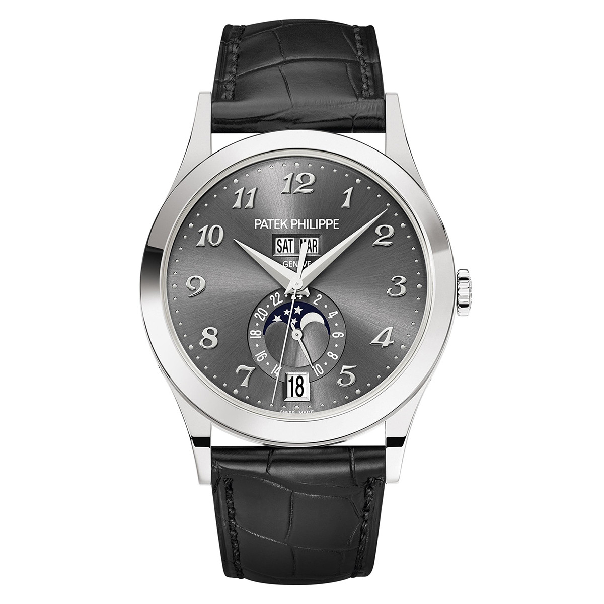 Annual Calendar White Gold (5396G-014)
