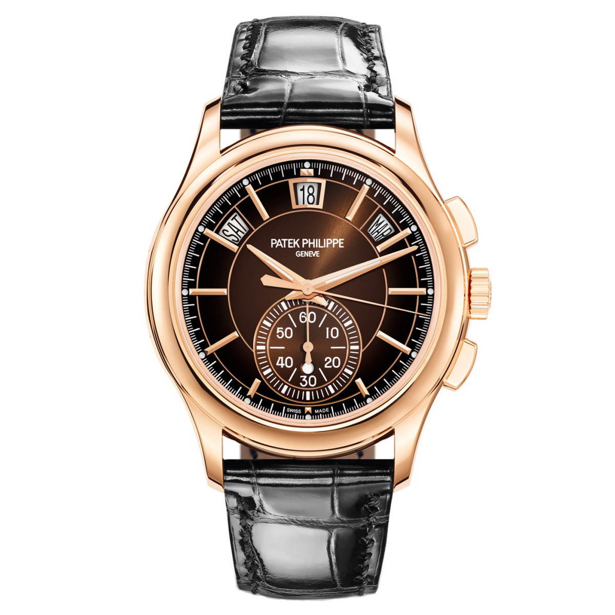 Annual Calendar Chronograph Rose Gold (5905R-001)