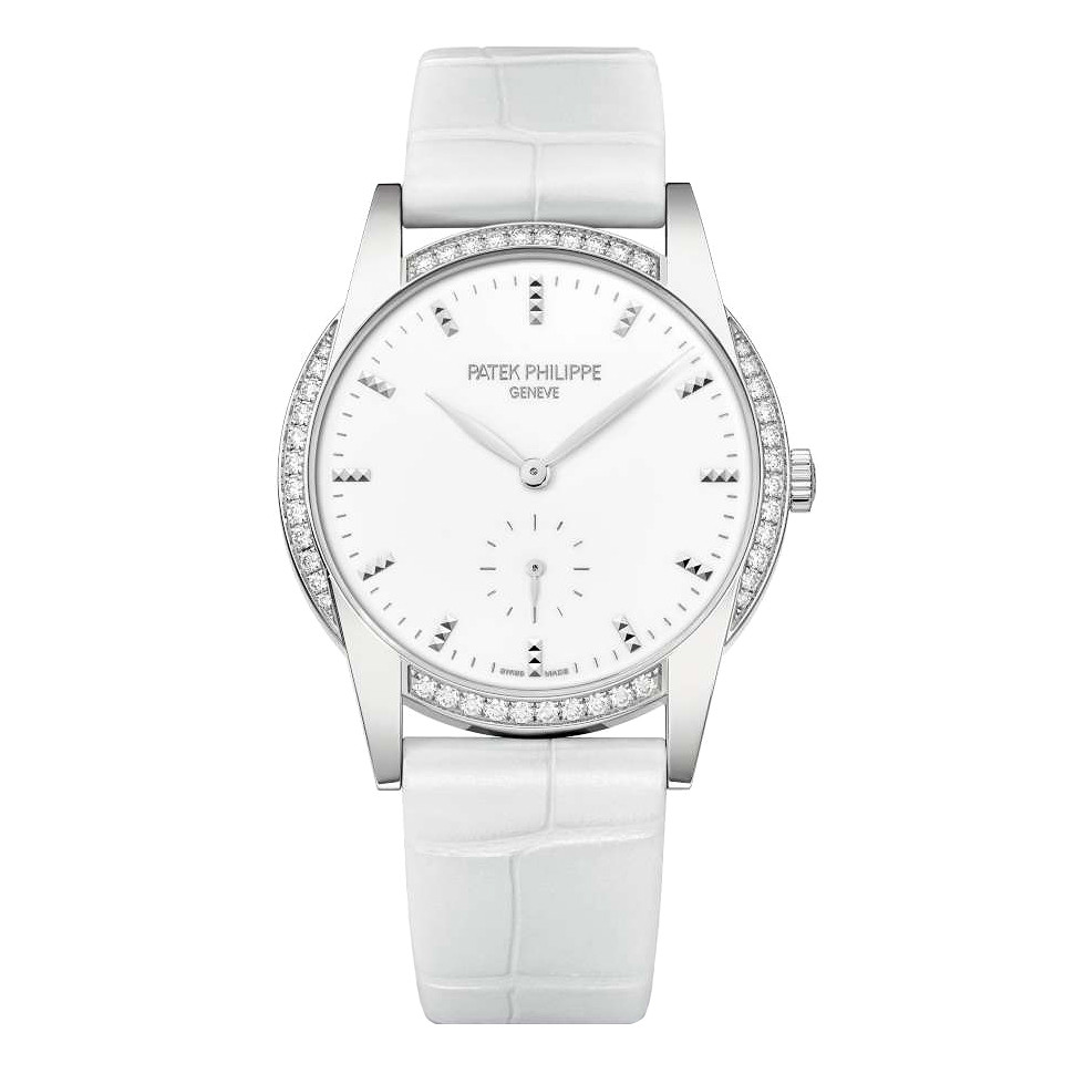 Ladies' Calatrava White Gold & Diamonds (7122/200G-001)