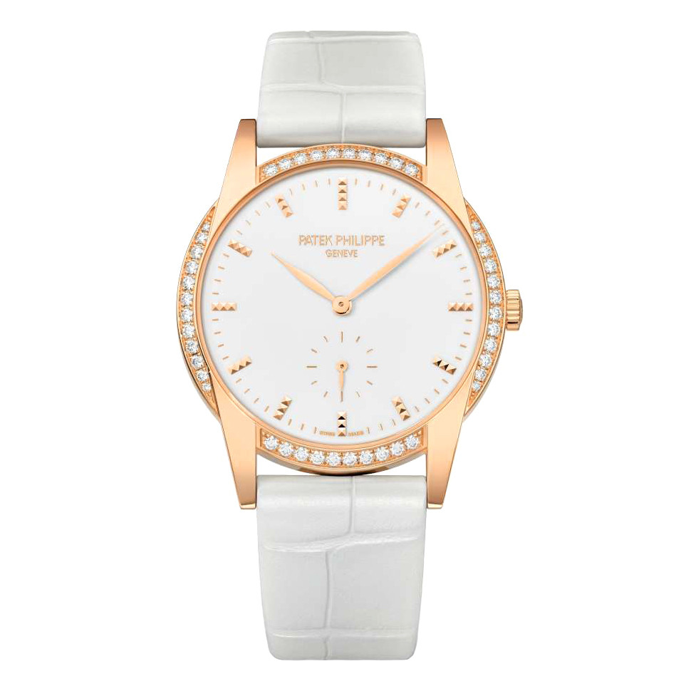 Ladies' Calatrava Rose Gold & Diamonds (7122/200R-001)