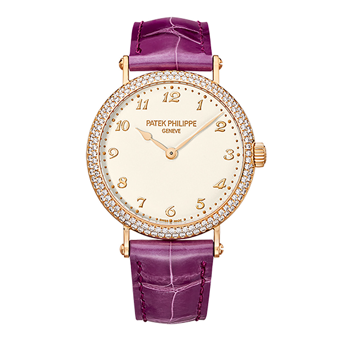 Ladies' Calatrava Rose Gold & Diamonds (7200/200R-001)