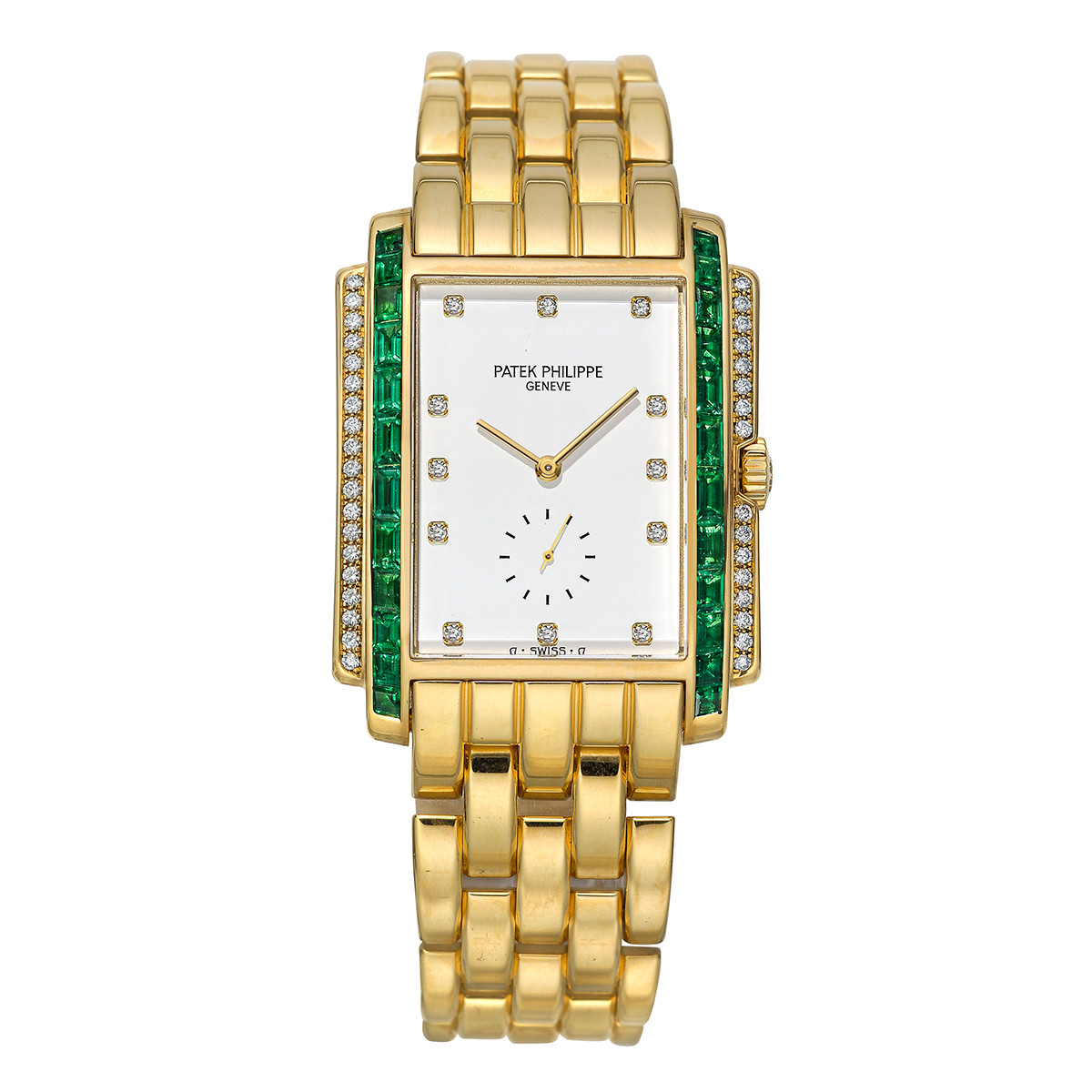 Gondolo Yellow Gold, Emerald & Diamond (5045/13J-001)