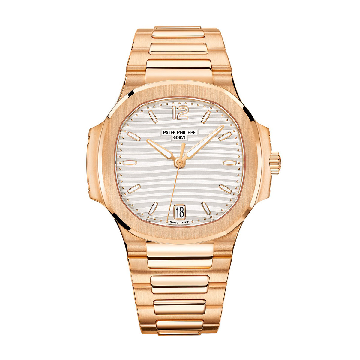 Ladies' Nautilus Rose Gold (7118/1R-001)