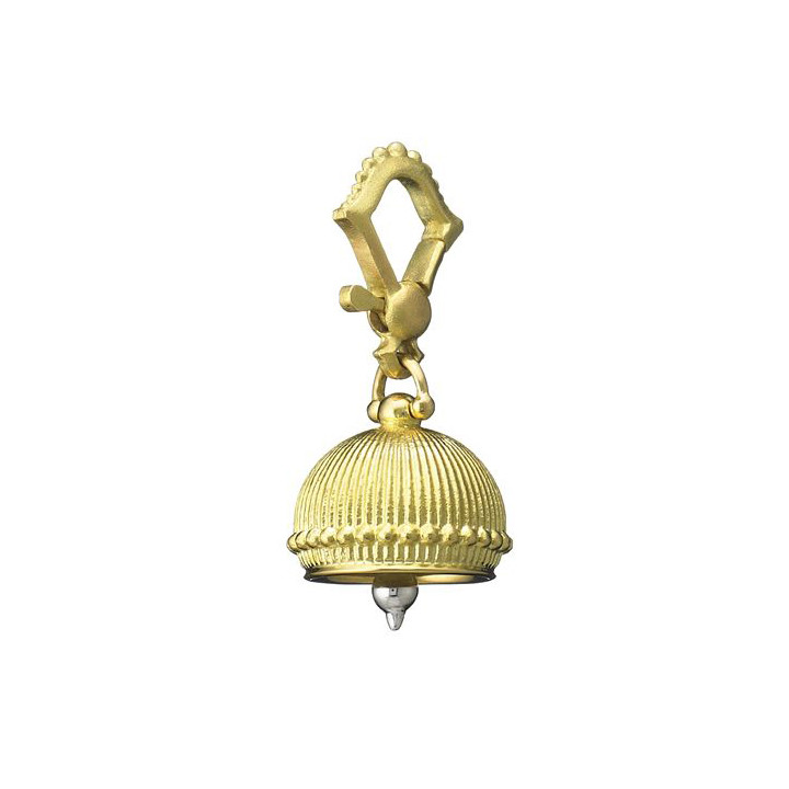 Extra Small 18k Yellow Gold Meditation Bell