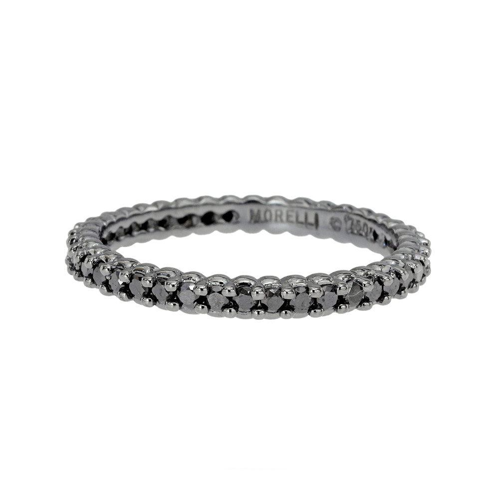 "Black Diamond ""Pinpoint"" Eternity Band"