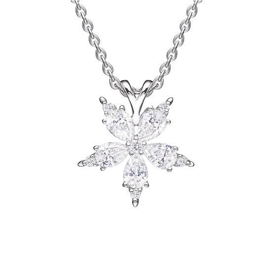 "Small Diamond ""Stellanise"" Pendant"
