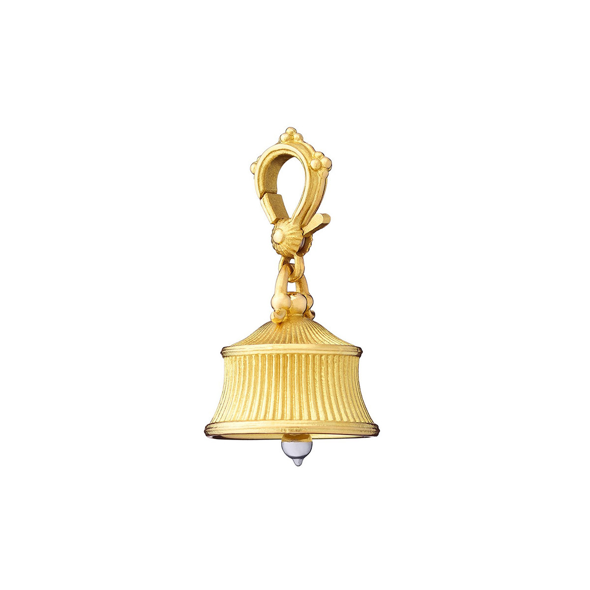 Small 18k Gold Fluted Meditation Bell