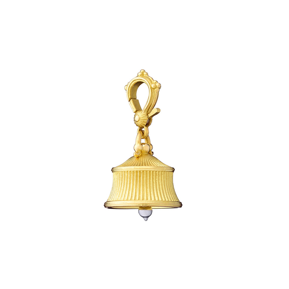 Extra Small 18k Gold Fluted Meditation Bell