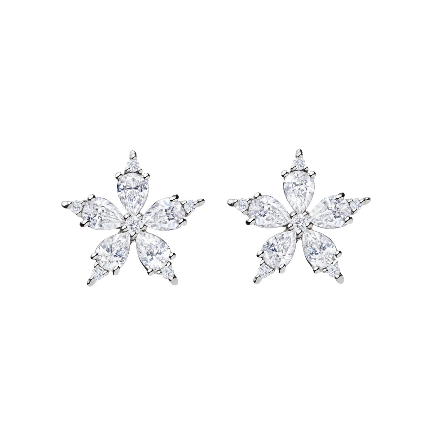"Mini Diamond ""Stellanise"" Earrings"