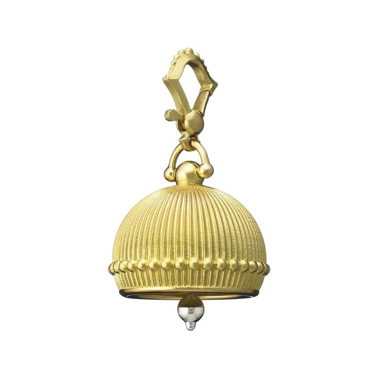 Large 18k Gold Meditation Bell