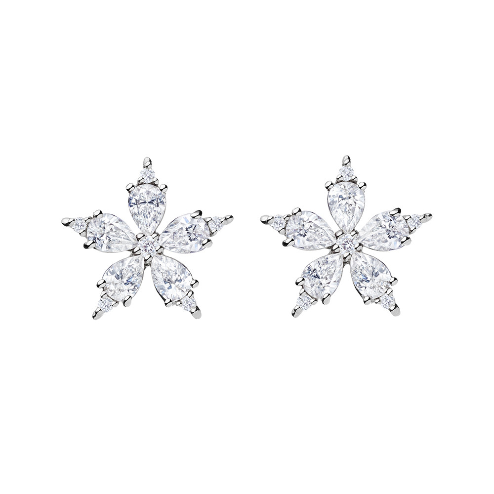 "Small Diamond ""Stellanise"" Earrings"