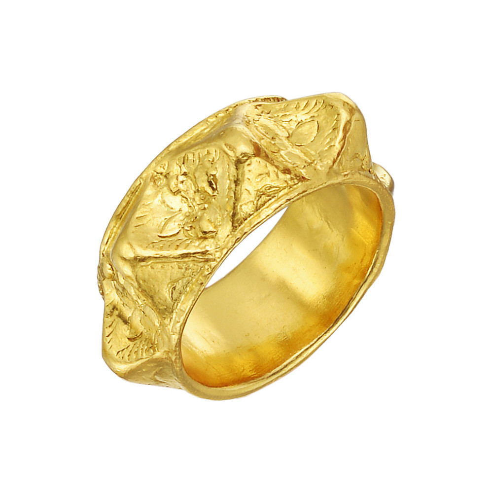 "22k Gold ""Thai"" Band Ring"