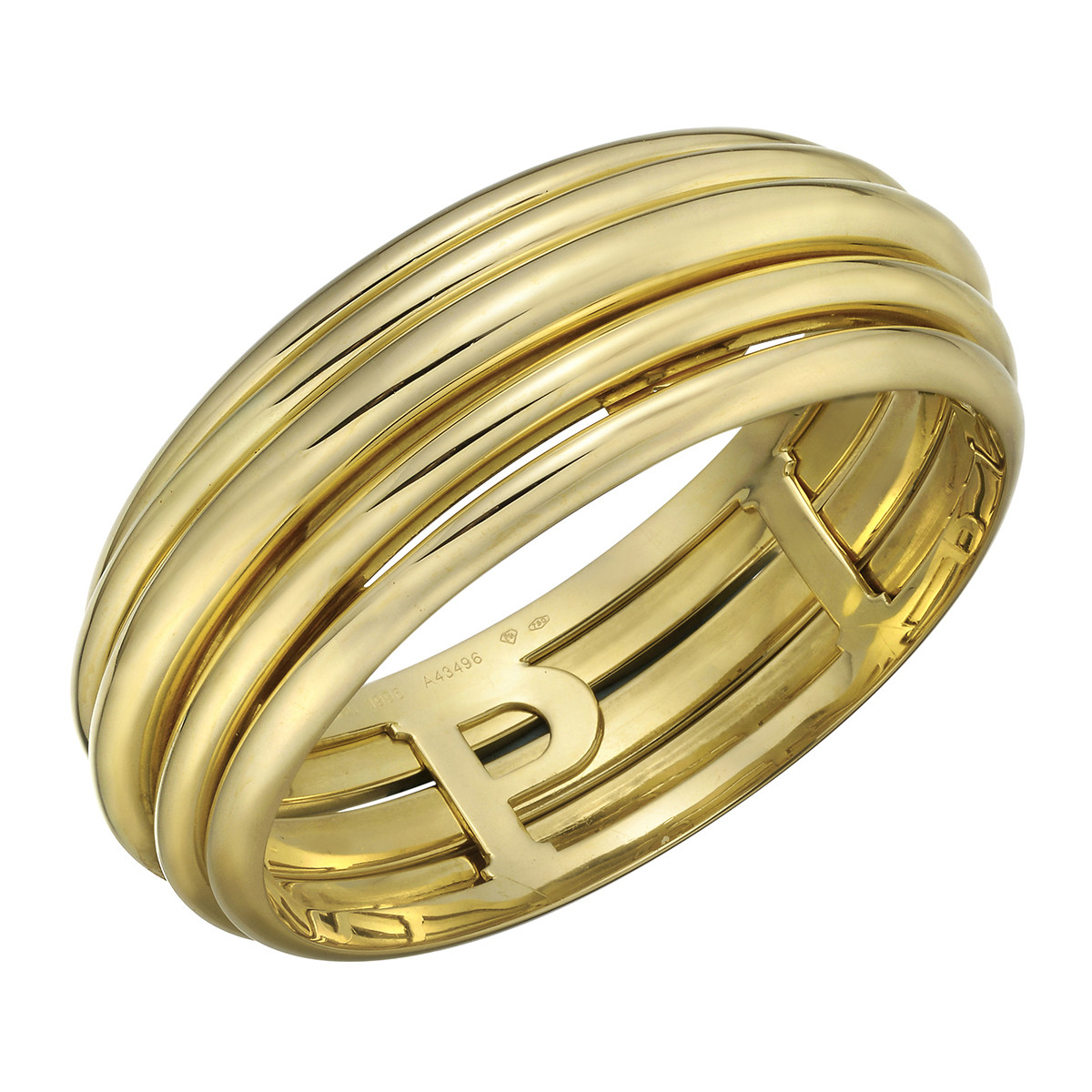 "18k Yellow Gold ""Possession"" Bangle Bracelet"