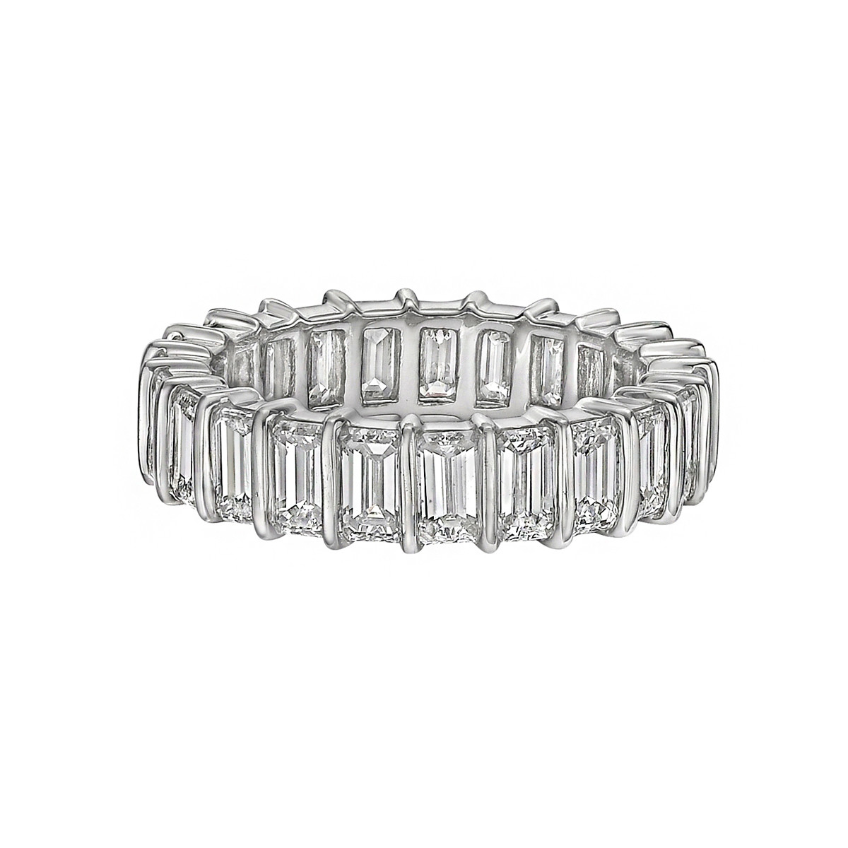Bar-Set Diamond Eternity Band (4.46tcw)